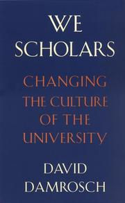 Cover of: We scholars
