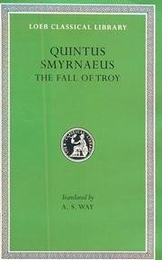 Cover of: The fall of Troy