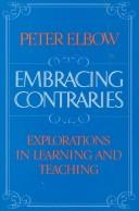 Cover of: Embracing contraries
