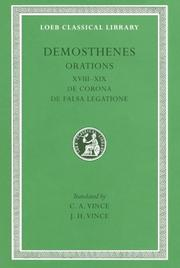 Cover of: Demosthenes