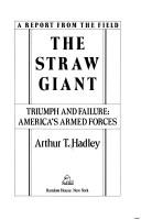 Cover of: The straw giant | Hadley, Arthur Twining