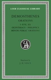 Cover of: Demosthenes | Demosthenes