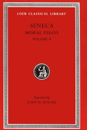 Seneca by Seneca the Younger