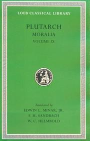 Cover of: Plutarch | Plutarch