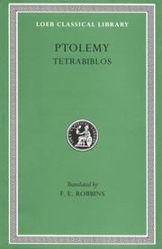 Cover of: Ptolemy | Ptolemy