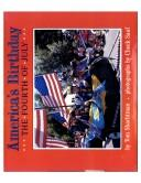 Cover of: America's birthday: the fourth of July