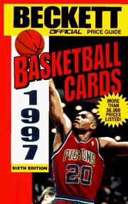 Cover of: Official Price Guide to Basketball Cards, 6th ed., 1997