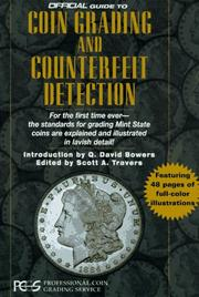Cover of: Official Guide to Coin Grading and Counterfeit Detection (1st ed)