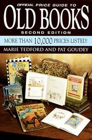 Cover of: Official Price Guide to Old Books