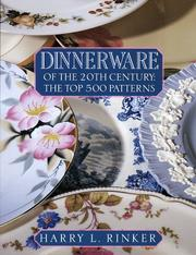 Cover of: Dinnerware of the 20th Century