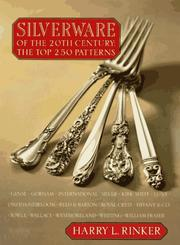 Cover of: Silverware of the 20th Century