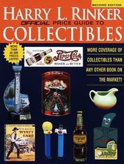 Cover of: Rinker on Collectibles Second Edition (Official Rinker  Price Guide to Collectibles)