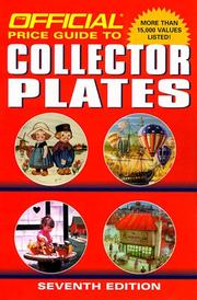 Cover of: The Official Price Guide to Collector Plates