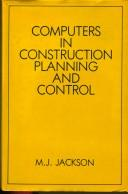 Cover of: Computers in construction planning and control