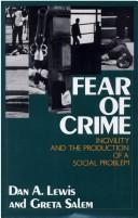 Fear of crime by Dan A. Lewis