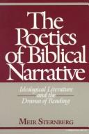 Cover of: poetics of biblical narrative | Meir Sternberg