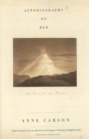 Cover of: Autobiography of Red