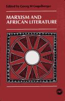 Cover of: Marxism and African literature |
