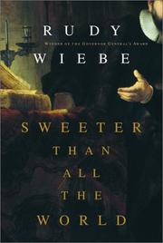 Cover of: Sweeter than all the world