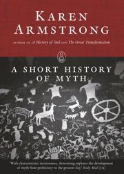 Cover of: A Short History of Myth