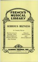 Cover of: Serious bizness