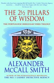 Cover of: The 2 1/2 Pillars of Wisdom