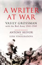 Cover of: A Writer at War