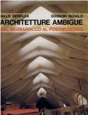 Cover of: Architetture ambigue