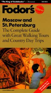 Cover of: Fodor's Moscow and St. Petersburg
