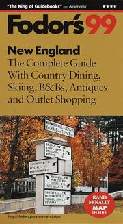 Cover of: New England