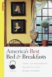 Cover of: America's Best Bed & Breakfasts