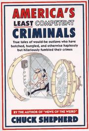 Cover of: America's least competent criminals