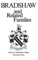 Cover of: Bradshaw and related families