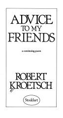 "i am getting old now by robert kroetsch Placing a ""place-possessed"" (""fear"", 81) robert kroetsch but for now, i focus on kroetsch's i am wondering how to place kroetsch's often."