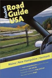 Cover of: Fodor's Road Guide USA