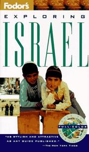 Cover of: Exploring Israel