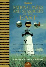 Cover of: National Parks and Seashores of the East