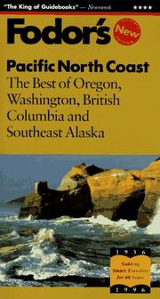 Cover of: Pacific North Coast