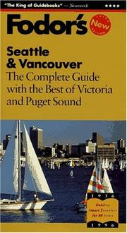 Cover of: Seattle & Vancouver