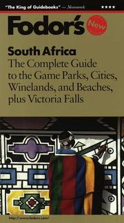 Cover of: South Africa