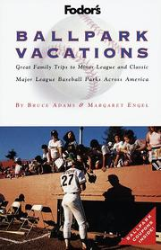 Cover of: Ballpark Vacations | Margaret Engel