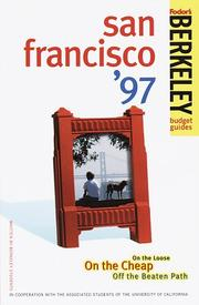 Cover of: Berkeley Guides: San Francisco