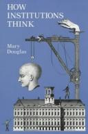 Cover of: How institutions think