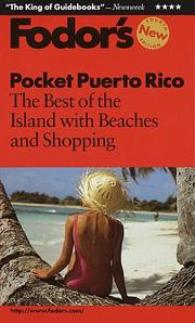 Cover of: Pocket Puerto Rico