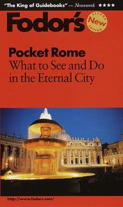 Cover of: Pocket Rome