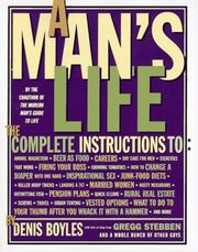 Cover of: A man's life