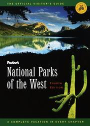 Cover of: National Parks of the West