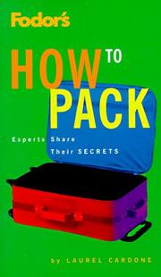 Cover of: How to Pack | Laurel Cardone