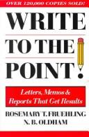 Cover of: Write to the point!