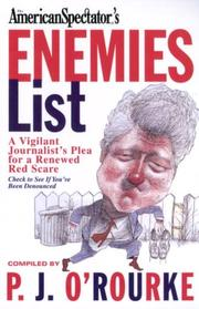 Cover of: The Enemies List